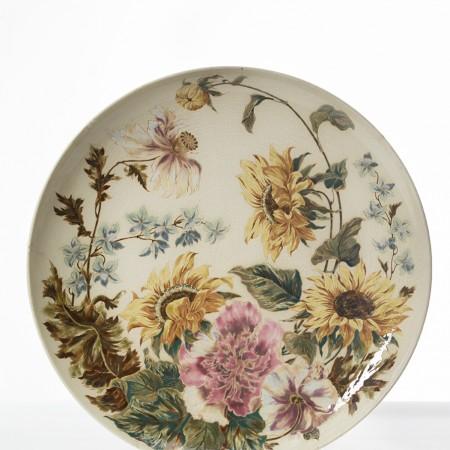 Choisy, Grand plat fleurs