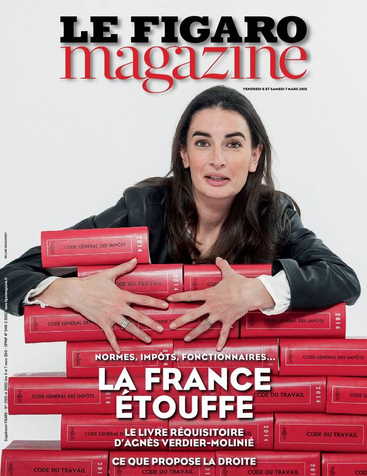 Couv Figaro Magazine-06 Mars 2015