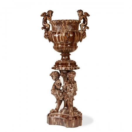 Massier putti marron