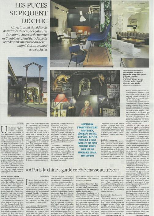 Le Monde - Galerie Vauclair