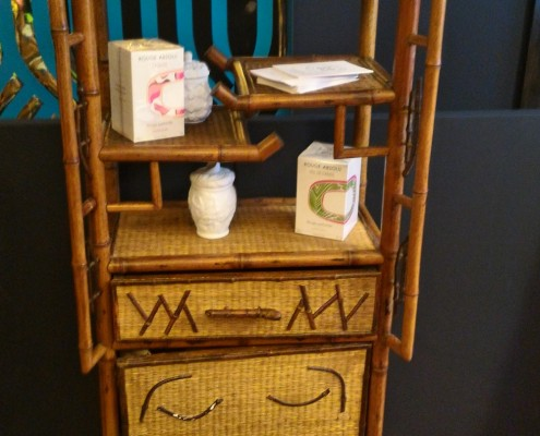 bamboo and straw furniture