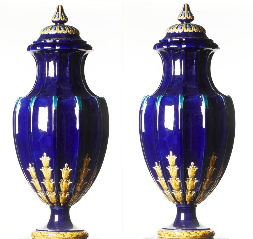 Sarreguemines Vases