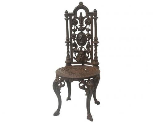 chaise fonte