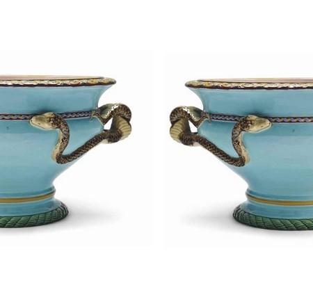 snakes vases