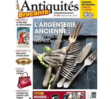 Galerie Vauclair - Antiquités Brocante Mag dec 2016