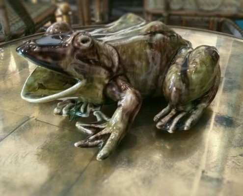 applique grenouille
