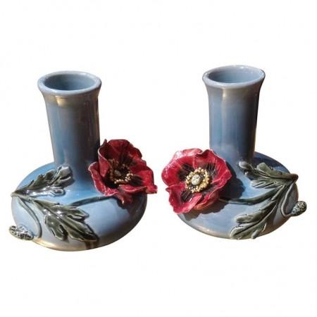 vases aux fleurs