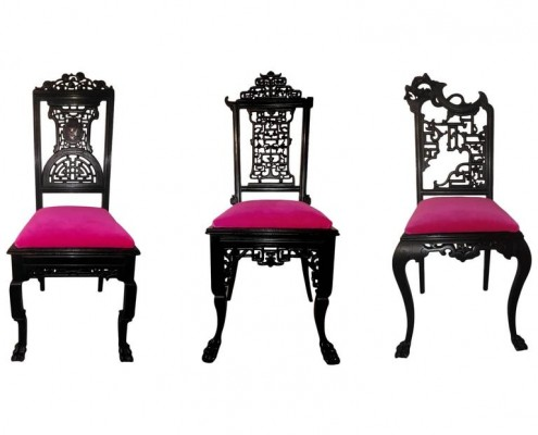 chaises d'inspiration chinoise