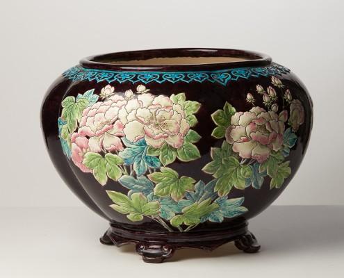 cache-pot japonisant