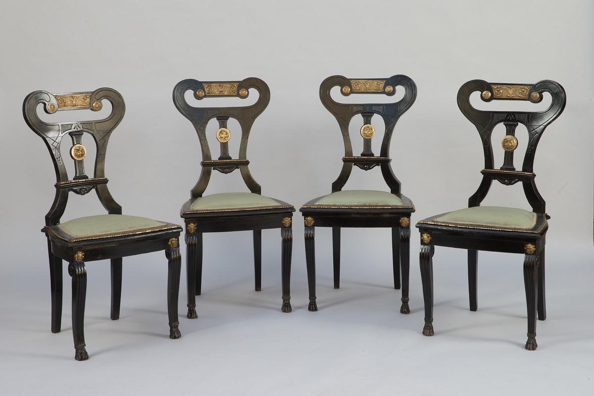 Chaises Italienne néoclassique site