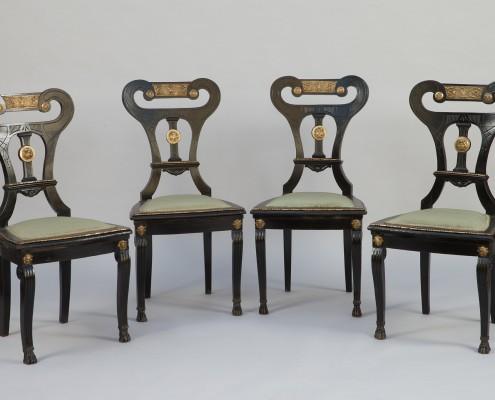chaises néoclassique