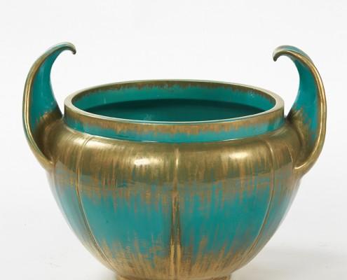 cache-pot turquoise