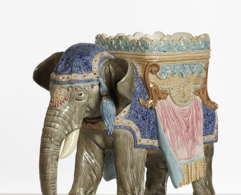 elephant jardiniere