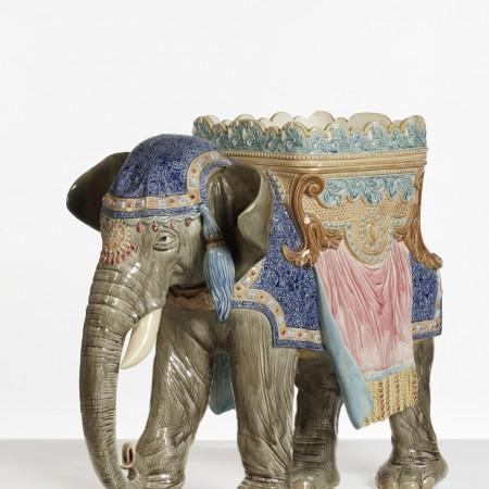 jardinière éléphant
