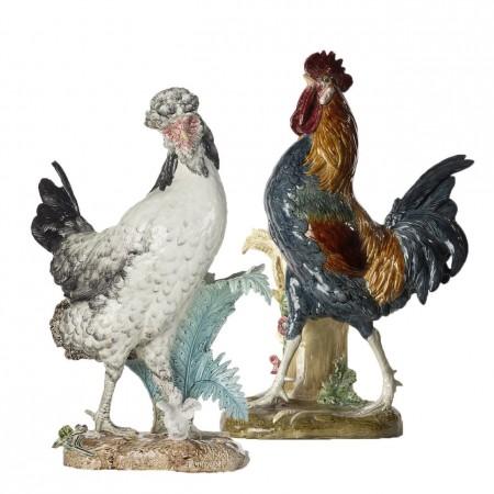 Coq et Poule de Bresse