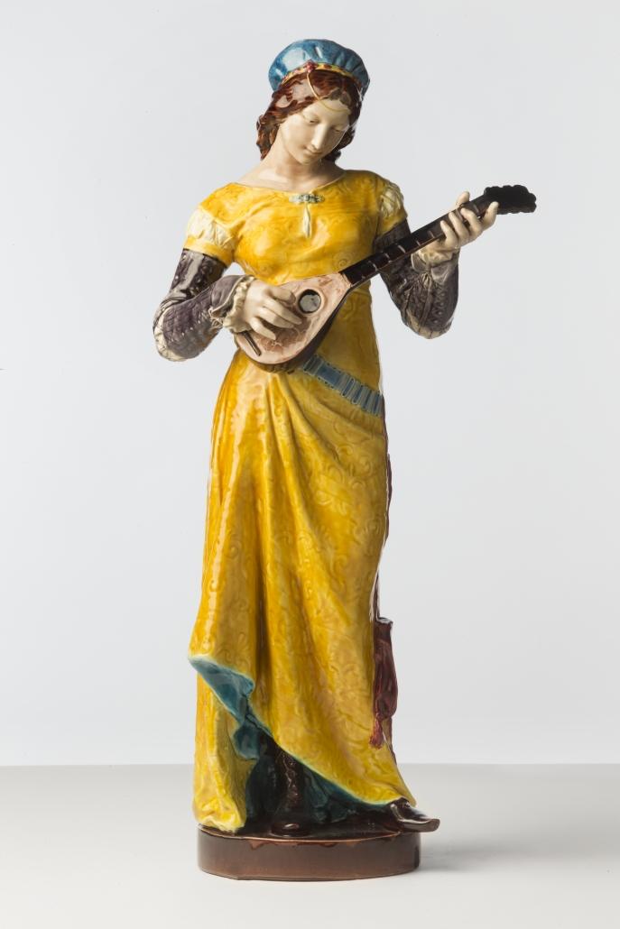 Joueuse de mandoline