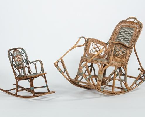 Rocking chair Perret et Vibert