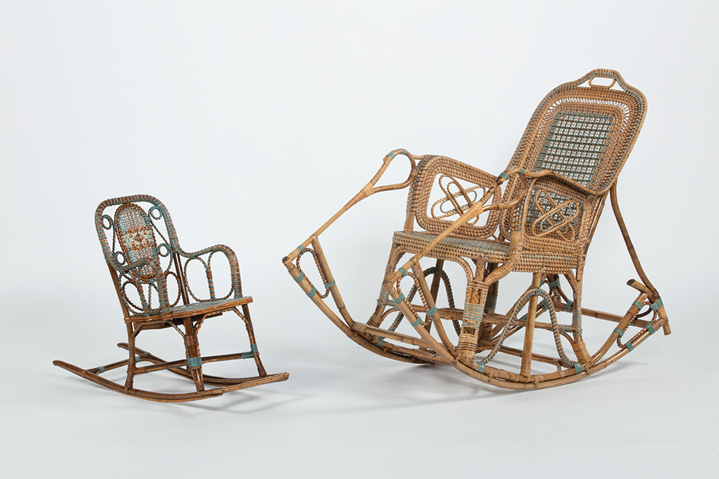 Rocking chair Perret et Vibert