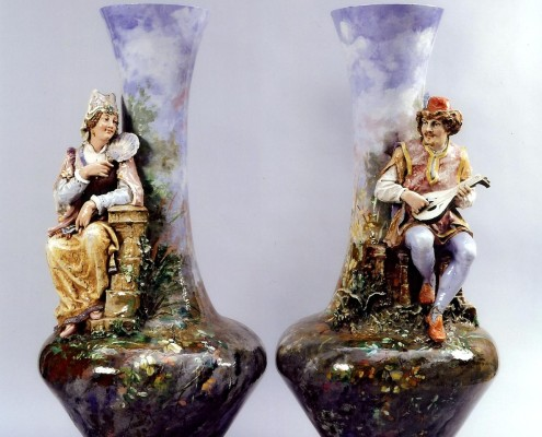 vases troubadours
