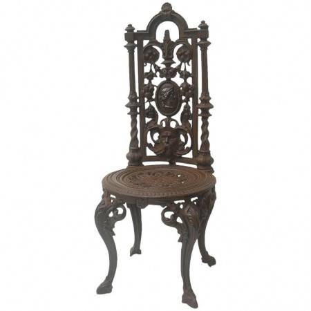 chaise en fonte