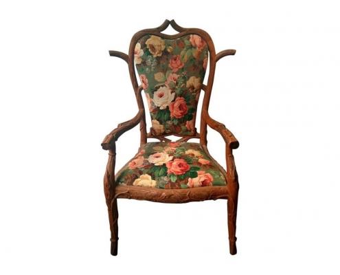 fauteuil bois arbre