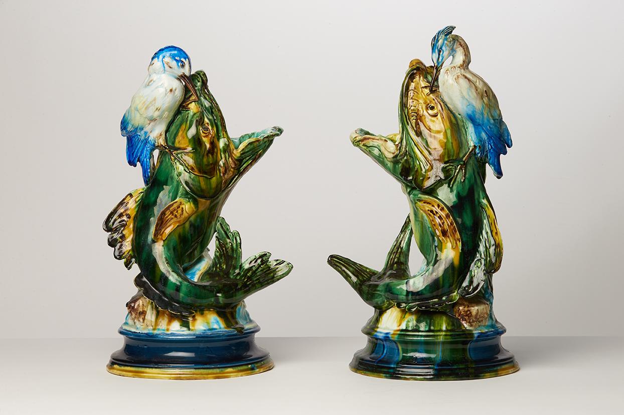 vases poissons