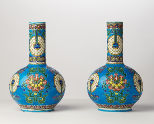 paire de vases tianqiuping