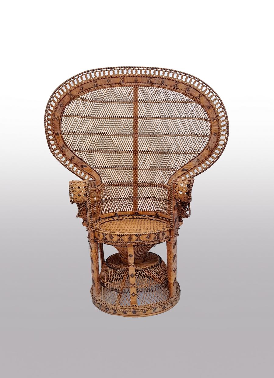 fauteuil en rotin Emmanuelle