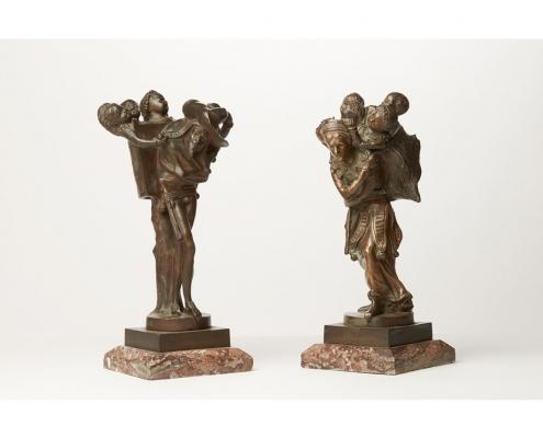Lomain bronzes fouettard